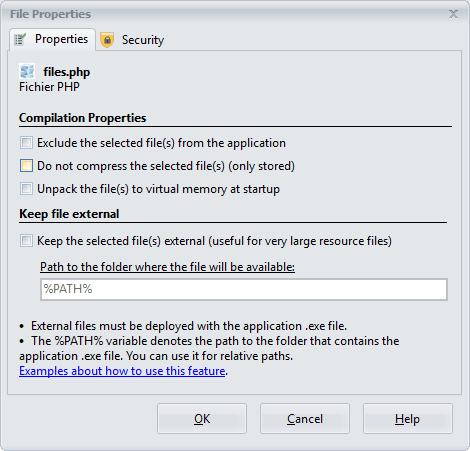 File Properties Editor